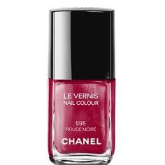 Chanel Makeup LE VERNIS NAIL COLOUR (595 ROUGE MOIRÉ)