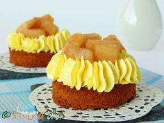 Tarte cu mere si vanilie - o reteta deosebita - simonacallas Something Sweet, Cheesecake, Muffin, Food And Drink, Sweets, Breakfast, Desserts, Food Ideas, Deserts