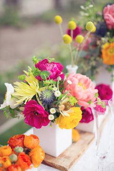 Gorgeous multi florals