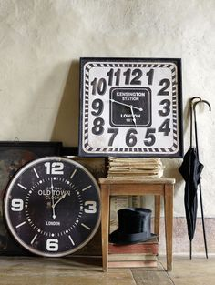 Pfister: Very british! British, Clock, Wall, Home Decor, Watch, Decoration Home, Room Decor, Clocks, England