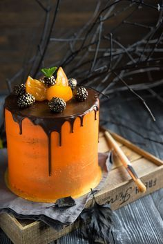 """Торт """"Тёмный Ларри"""" - новое открытие шокоголика - Andy Chef - блог о еде и путешествиях, пошаговые рецепты, интернет-магазин для кондитеров"""