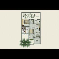 rumah-rumahan tipe 45