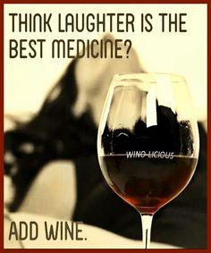 Wine Med Time... __[Via Winolicious/FB]