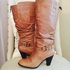 Reducedwomen'S Guess Leather Boots