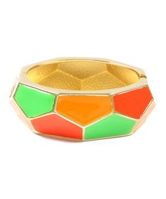 Take a look at this Neon Bleecker Street Stretch Cuff by Amrita Singh on #zulily today!