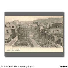 St Pierre Miquelon Postcard