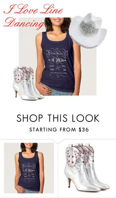 """I Love Line Dancing"" by flisty ❤ liked on Polyvore featuring Marc Jacobs"
