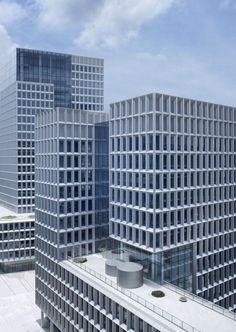 gmp-Hochhaus in Shenzhen / Drei Büroblöcke - Architektur und Architekten - News / Meldungen / Nachrichten - BauNetz.de