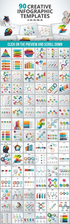 Infographic templates bundle by Abert