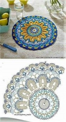 Transcendent Crochet a Solid Granny Square Ideas. Inconceivable Crochet a Solid Granny Square Ideas. Motif Mandala Crochet, Crochet Doily Patterns, Crochet Blocks, Crochet Diagram, Crochet Chart, Crochet Squares, Diy Crochet, Granny Squares, Mandala Rug