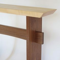 custom statement table modern wood table for your narrow hall table entry console table