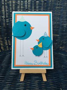 Birthday Card ~ Karte zum Geburtstag | www.derpappkarton.de