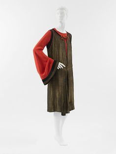 Ensemble Paul Poiret (French, Paris 1879–1944 Paris) Date: ca. 1922 Culture: French Medium: silk