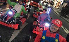 Nintendo processa empresa que oferece corridas de kart com fantasias do Mario