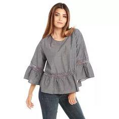 Blusa Chambray Moda Moda Para Dama Rose Fashion