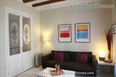 SabbaticalHomes - Home for Rent Barcelona 08015 Spain, Charming, historic, centrally located 2-bedroom