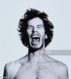 View top-quality stock photos of Face Of Man Screaming. Male Face Drawing, Drawing Face Expressions, Guy Drawing, Drawing People, Drawing Faces, Facial Expressions, Drawings, Face Reference, Drawing Reference Poses
