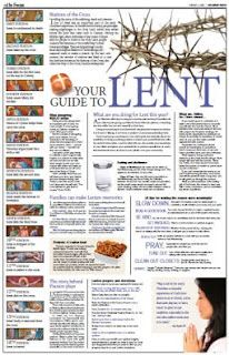 Lent preparation ideas from Catholic Icing