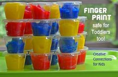 Finger Paint recipe