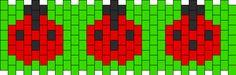 Ladybugs bead pattern