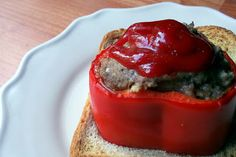 Roasted Red Pepper Meatloaf