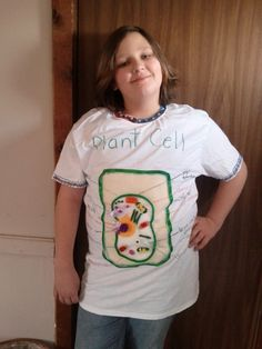 Plant Cell Project Ideas: Plant Cell T-Shirt