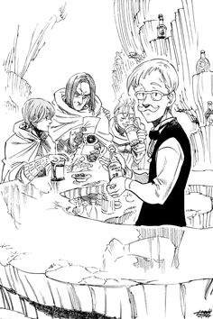 gluttony coloring pages | 48 Best Escanor images | Seven deadly sins, 7 deadly sins ...