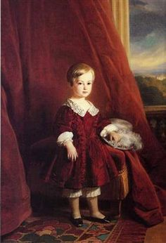 Painting of the Count of Eu as a child - Franz Xaver Winterhalter Franz Xaver Winterhalter, Princesa Victoria, Reine Victoria, Queen Victoria, Painting For Kids, Painting & Drawing, Art For Kids, House Painting, Alexandra Feodorovna