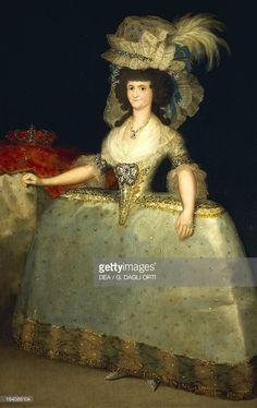 Maria Luisa de Parme - Francisco Goya . 1789 - Musée du Prado Madrid