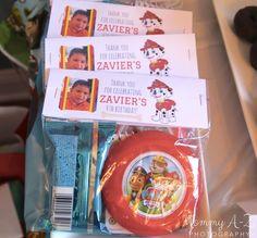 Paw Patrol Birthday Party - Free goody bag topper printable
