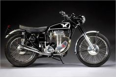 1956 matchless G80CS Classic Vintage motorcycle British motorbike