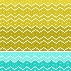 Chevron Ombre Printable from Doodle Craft