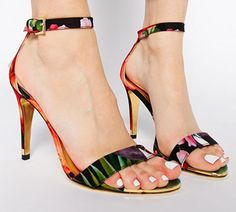 Ted Baker Floral Wedding Shoes