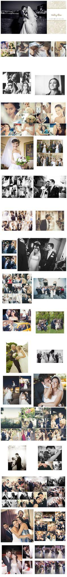 Wedding album design, album di matrimonio, fotolibro