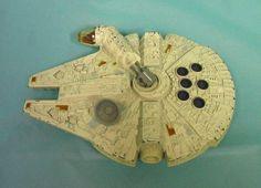 1979 Star Wars Space Ship Scifi Millenium Falcon 5 1/2 Inches Kenner Toy Vintage #starwars #scfi  #spacecraft