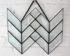 Image of Geometric Double Bevel Arrow Tail
