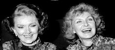 Myrna Loy & Joanne Woodward