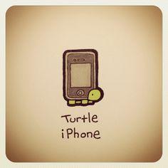 Turtle iPhone #turtleadayjuly - @turtlewayne- #webstagram