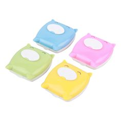 New Cute Pig Design Contact Lens Case Contact Lens Box Spectacle Cases Mirror Case Storage Container Box