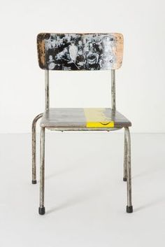 artista lesson chair, anthro