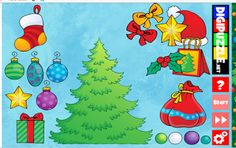 PUZZLES educativos GRATIS: KINDER christmas