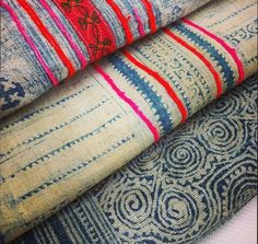 APART - Vietnamese textiles: different places / cultures represented through fabrics, patterns, etc.