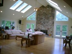 Ignore the furniture (shiver), but the skylights are fantastic.
