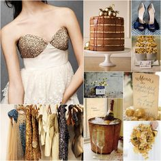 If the trendy colors of summer aren't exactly your idea of the perfect wedding palette, then you're in the right place. We've compiled some beautiful alternative wedding palettes that might just be right up your alley. Bronze Wedding, Blue Wedding, Wedding Bells, Wedding Suite, Gatsby Wedding, Wedding Attire, Dream Wedding, Wedding Themes, Wedding Colors