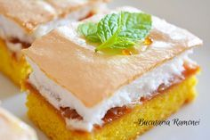 Prajitura Figaro Sandwiches, Cheesecake, Sweets, Desserts, Recipes, Cakes, Food, Fishing, Sweet Pastries