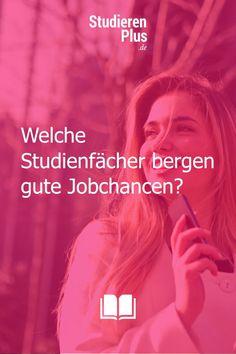 Studium als Garant für einen gut bezahlten Job? Aber welche Studienfächer bergen tatsächlich gute Jobchancen? #wasstudieren #studierentipps #studium