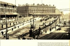 Manchester Piccadilly Station,  1901