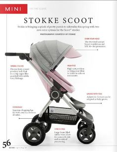 On the Scene with Stokke Scoot – Featured in MINI MAGAZINE