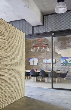 Image 9 of 25 from gallery of KUD STUDIO / Kavellaris Urban Design. Photograph by Peter Clarke Urban Interior Design, Gym Interior, Australian Interior Design, Interior Design Awards, Interior Architecture, Urban Design Concept, Urban Design Diagram, Office Images, Commercial Interiors