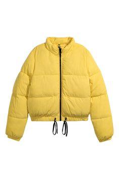 Padded Jacket | Bright yellow | WOMEN | H&M US